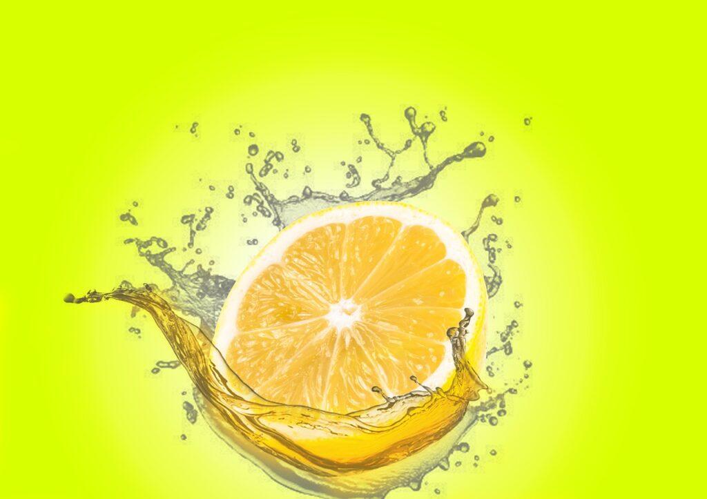 lemon, water splash, lime