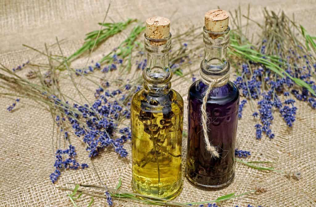 bath oil, oil, lavender
